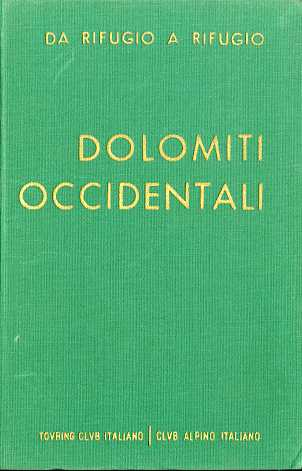 Copertina di Dolomiti Occidentali